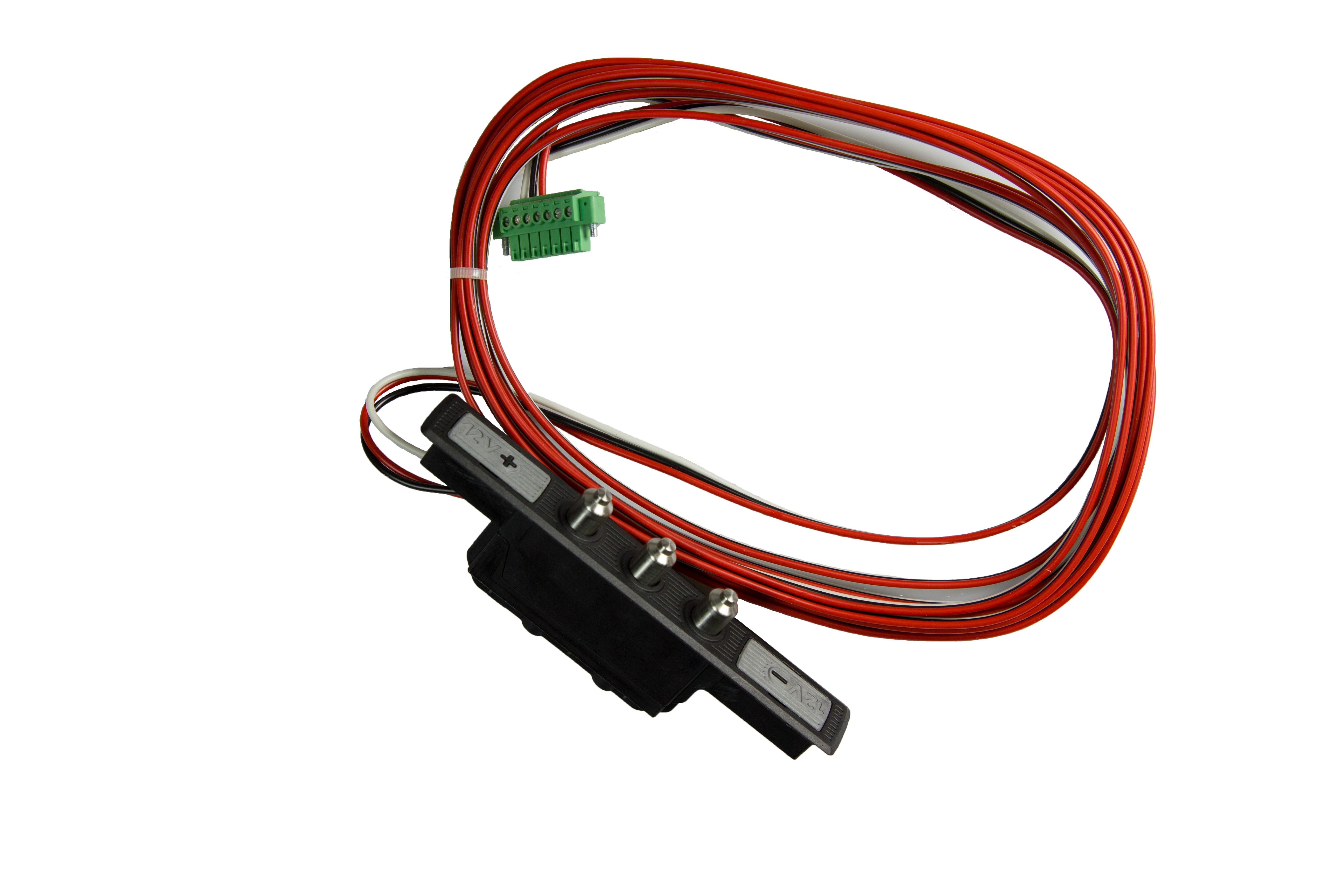 Kabelovergang deurdeel inclusief kabel en connector