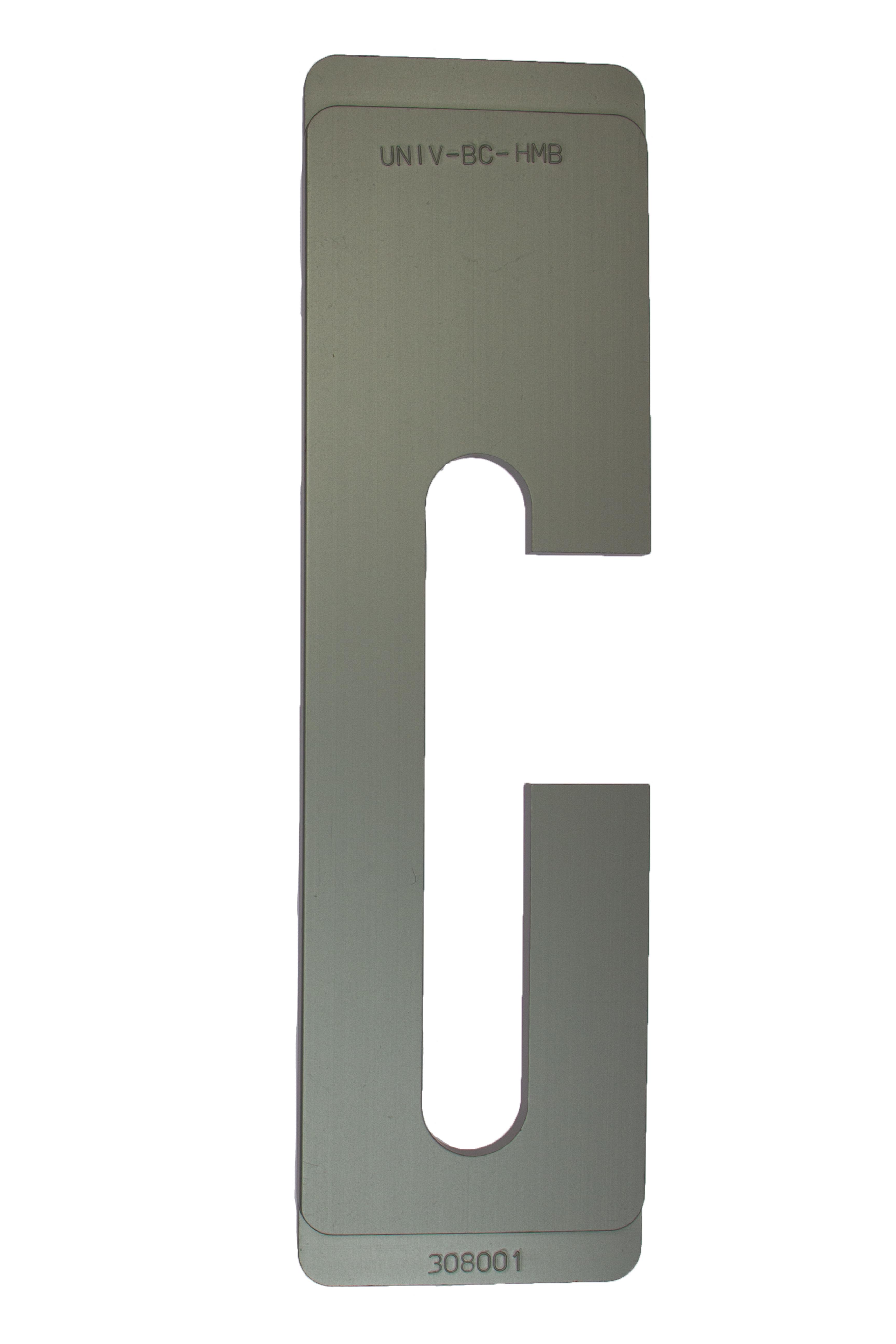 Inlegcassette HMB verstelbare dag- en nachtsluitplaat b-c