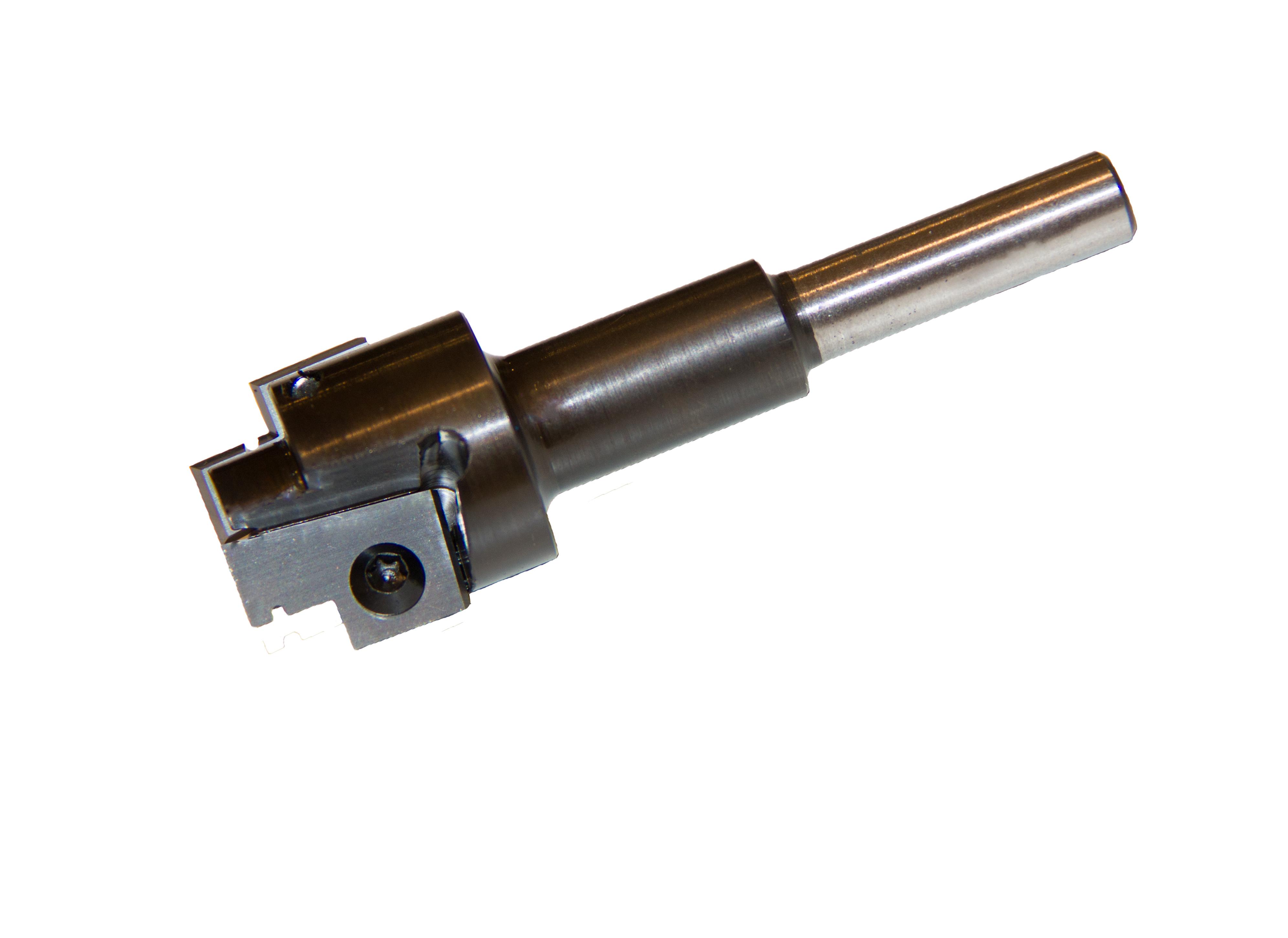 T-freesbeitel voor voorplaatbreedte 24mm